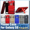 Buy Hybrid Armor Defender Iron Man Shockproof Case iPhone 5s 6 plus 5.5 Samsung Galaxy S5 S6 edge G9250 Note 4 A7 HTC M9 Kickstand