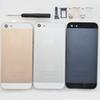 Buy Premium Metal Back Case Battery Door SIM card tray +volume button +power iPhone 5 5G Cover Black White Blue