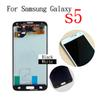 Buy Samsung Galaxy S5 i9600 Black White Full New LCD Display Panel Touch Screen Digitizer Glass Lens Assembly Replacement