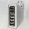 Buy 6 USB Multi Ports EU/US//UK/AU Plug Travel AC Power Adapter Tablet Cell Phone Wall Charger Universal use ipad iphone Samsung Lenovo