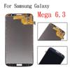 Buy Samsung Galaxy Mega i9200 6.3 inch Gray Full New LCD Display Panel Touch Screen Digitizer Glass Lens Assembly Replacement