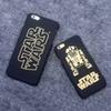 Buy fashion case iphone 6/6plus star war PC cool shell mobile phone black color