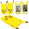 Buy 2015 New Style Anime Cartoon 3D Pocket Monsters Pikachu Cute Silicone Back Cover Case iPhone 4 4s 5 5s 6 6s plus DHL