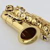 Buy Professional JINBAO Alto Saxophone JBAS-200 E flat Gold lacquer professional Brass wind instruments mouthpiece