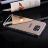 Buy Fashion Mirror Acrylic Back cutout Transparent Clear Mobile Phone Cases Samsung Galaxy S7 S6 Egde NOTE5 iPhone 6s 6 Plus