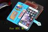 Buy Wallet PU Leather Case Stand Photo ID Card TPU Pouch money Bag HTC One M8 M9 Plus E9 Desire 826 D728 520 A9 D828w