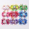 Buy Hot selling 4in double layers Girl baby USA cartoon grosgrain ribbon Hair bows alligator clips Bottle cap 2005B-1-9-Y