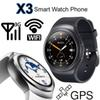 Buy Android 3G Smart Watch Phone Bluetooth Smartwatch D5 X3 Dual Core 4G 512MB Smartphone GPS Wifi Heart Rate Monitor Pedometer Snyc iPhone