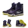 Buy (With shoes Box) 2016 New Bryant Kobe 10 X KB Elite High Grand Purple Violet 718763-505 Men Boots Shoes