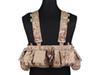 Buy Airsoft V Split Front Chest Rig UW Gen MF Style Painball EMERSON Army Combat Hunting Shooting Gear EM7451A AOR1