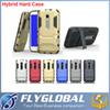 Buy 2 1 Hybrid Tough Armor Defender Robot Shockproof Kickstand Iron man Case iPhone5S SE 6S Plus S6 S7 Edge A5100 A7100 A9 back cover DHL