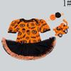 Buy Hallowmas Jumpsuit Rompers Baby One Piece Romper Infant Girl Dress 2016 Newborn Children Clothes Kids Clothing Lovekiss C28433