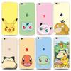 Buy PokéMon Go Iphone 5s/6s/6p Case Cartoon Pikachu Luxury Phone Soft TPU Backcover Ultra Thin 0.5mm Poke Painting Transparent Covers