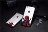 Buy 3D Super Cool Marvel Hero Deadpool Coque Fundas Black Soft Silicone Case iPhone 5 5S 6 6S 6Plus SE Cover