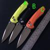 Buy DX Version New design Mantis C81 Rat 1 Tactical Ball bearing Folding Knife D2 blade G10 Handle Survival Hunting EDC Knifes