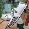 Buy Spring breathable doug men loafers casual shoes increased within flats British fashion lace