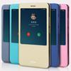 Buy 2016 New Xiaomi Mi Max Case Cover Open Window Flip PU Leather Phone Funda Coque