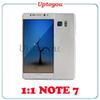 Buy 1:1 Note7 Edge Clone Phones Note 7 Smartphone MTK6580 Quad Core 1GB Ram 8GB ROM show 4G network Cell also I7 S7 Best quality