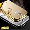 Buy 10Samsung Note 2 3 4 Case Luxury Aluminum Frame + Mirror Acrylic Back Cover Bumper
