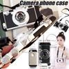 Buy 2016 New Korean Style Camera Phone Case Silica Gel Iphone 5 5s 6 6s 6p Plus Free DHL Cover