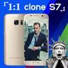 Buy Goophone Clone S7 s7 phones Android 5.1 64bit dual SIM Show Octa Core 3gb ram inch 4G LTE 1GB RAM 32GB ROM 8.0MP sim Smartphone