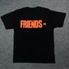 Wholesale-Free shipping summer Vlone know big wave friend letter V short sleeve T-shirt printing rock hip-hop YEEZUS as soon as possible