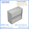 Buy 4 pcs, 61*115*120mm anodizing aluminum pcb enclosure distribution box amplifier electronics instrument AK-C-C51