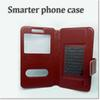Buy design pu leather phone case cell suit 3.5inch 5.5inch smart iphone samsung HTC honor LG huawei