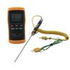 Buy DT1311 Measuring Device Contact Digital Thermometer K Type -200-1370C Thermocouple + Surface 1M Wire