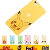 Buy Poke Pikachu PC Cell Phone Cases Iphone 6 4.7inch 6Plus 5inch Lover Back Cover Protective Case Opp bag SZ-C03
