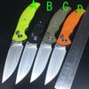 Buy DX Version New design C81 Rat 1 model 3 Tactical Ball bearing Folding Knife D2 blade G10 Handle Survival Hunting EDC Knifes