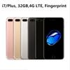 Buy Hot Selling Goophone i7 plus MTK6735 64bit Quad Core REAL 4G lte Real Fingerprint 32GB ROM Android 6.0 Smartphone
