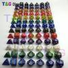 Buy 7pc/lot dice set Multi-Sided Dice marble effect D4D6 D8 D10 D12D20 DUNGEON DRAGONS D&d rpg custom