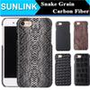 Buy Snake Wood Grain Carbon Fiber Case PU Leather Cover iPhone 7 Plus 6 6s 5s se Samsung S7 Edge S6 Note 5 Sony Z5 Premium