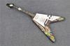 Buy Custom Flying V electric guitar Solid body Ebony fingerboard Special Shape Handmade Chinese guitars