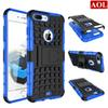 Buy iphone 7 7plus 6 6s plus 5 5s SE 5C Hybrid Kickstand Rubber Armor Hard PC+TPU Stand Function Cover Cases free gifts