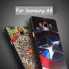 Buy Samsung Galaxy A8 Slim Soft TPU Silicone 3D Painting Cartoon Emboss Mobile Phone Cases Cover A8000 5.7 Inch