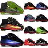 Buy Mercurial Superfly V FG Mens CR7 Soccer Boots Kids Football Womens Shoes Superflys Youth Cleats Children