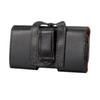 Buy black Wallet PU Leather Case Cover Pouch belt clip apple iphone samsung LG HTC