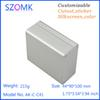 Buy 4 pcs, 44*90*100mm aluminium enclosure electronics aluminum housing electric junction box electronic project AK-C-C41