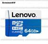 Buy 16GB/32GB/64GB/128GB/256GB Lenovo micro sd card/smartphone SDHC Storage card/TF card/camera memory card 10MB/S