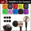 Buy 3.5mm Metal Xiaomi piston Headphone Universal Earphone Noise Cancelling In-Ear Headset iPhone Samsung HTC Huawei Smart Cellphone
