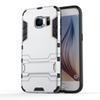Buy Hard heavy Duty armor Shield Case TPU + PC Cover Protective Samsung Galaxy S6 S7 Edge 2 1 Stand Function