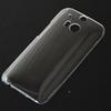 Buy HTC one 2 M8 Case Ultra Thin Slim Crystal Transparent Back Cover PC Plastic Hard Mobile Phone Cases Clear