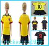 Buy 2016 2017 Colombia Kids Jerseys child teens Shirt 10 JAMES 9 FALCAO 11 CUADRAD 16 17 America