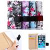 Buy Palace Floral Series Leather Wallet Flip Case Stand Flower Cover Samsung Galaxy A5 A500 J5(2016) J3(2016) iphone5 6 6s