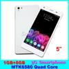 Buy 5 inch 3G Unlocked Mobile phones Z6 MTK6580 Quad Core Android 5.1 Dual SIM 1GB RAM 8GB ROM Smartphones Smart-wake