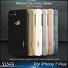 Buy Iphone 7 Case Motomo TPU+PC+Metal Hard Back Cover Brush Cases iPhone plus 6s J7 Prime work magnetic car holder 2