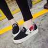 Buy Zapatillas Deportivas Mujer 2016 Canvas Shoes Female Thick Bottom Foot Leisure Set Le Fu Suihua Korean Students