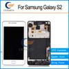 Buy White Samsung Galaxy S2 i9100 LCD Display Touch Screen Digitizer Assembly + Bezel Frame Tools Fast shipping